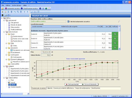 Software calcolo isolamento acustico confortevole for Software di progettazione di edifici per la casa gratuito