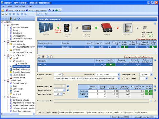 Software progettazione impianti fotovoltaici e solari for Software di progettazione domestica personalizzato