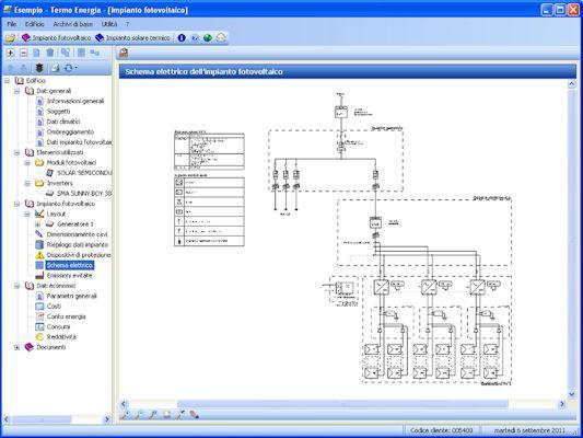 Schemi Quadri Elettrici Software Gratis : Software progettazione impianti fotovoltaici e solari
