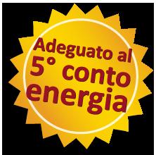 Software 5° conto energia